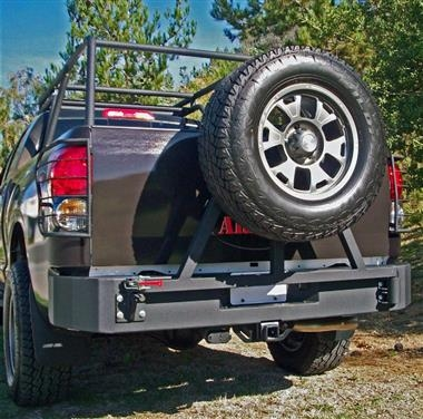 Body Armor 07 13 Toyota Tundra Rear Bumper Base