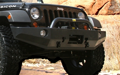 Tjm T3 Bull Bar Front Winch Mount Bumper For 2007 Jeep
